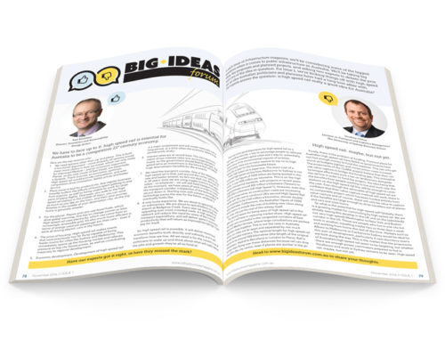 Infrastructure Magazine – Big Ideas